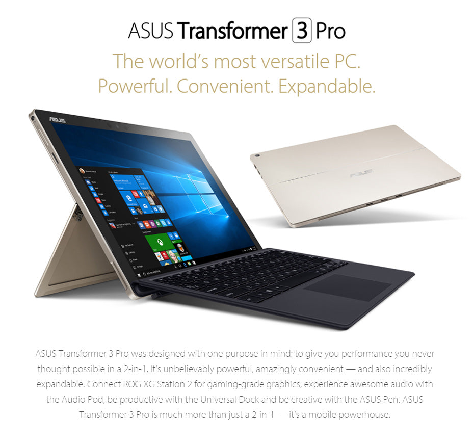 Asus Transformer 3 Pro Laptops