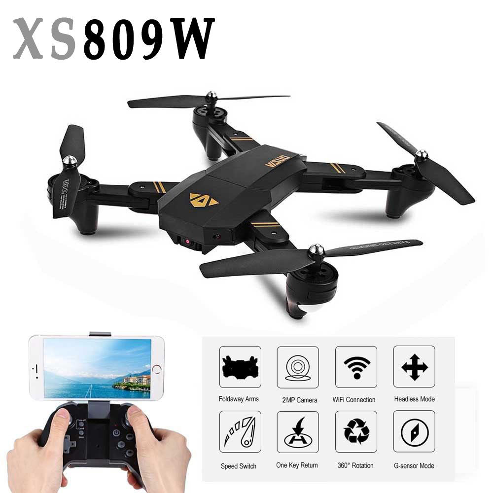 Drone with Camera Mini Drone XS809W Foldable RC Selfie Drone - Spinner-Gadget