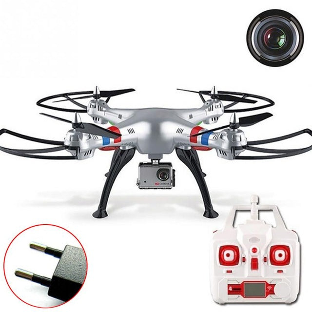 Syma X8G Fly Gyro RC Quadcopter 2.4Ghz 6-Axis Drone UAV RTF UFO 8MP HD Camera Aerial photography - Spinner-Gadget