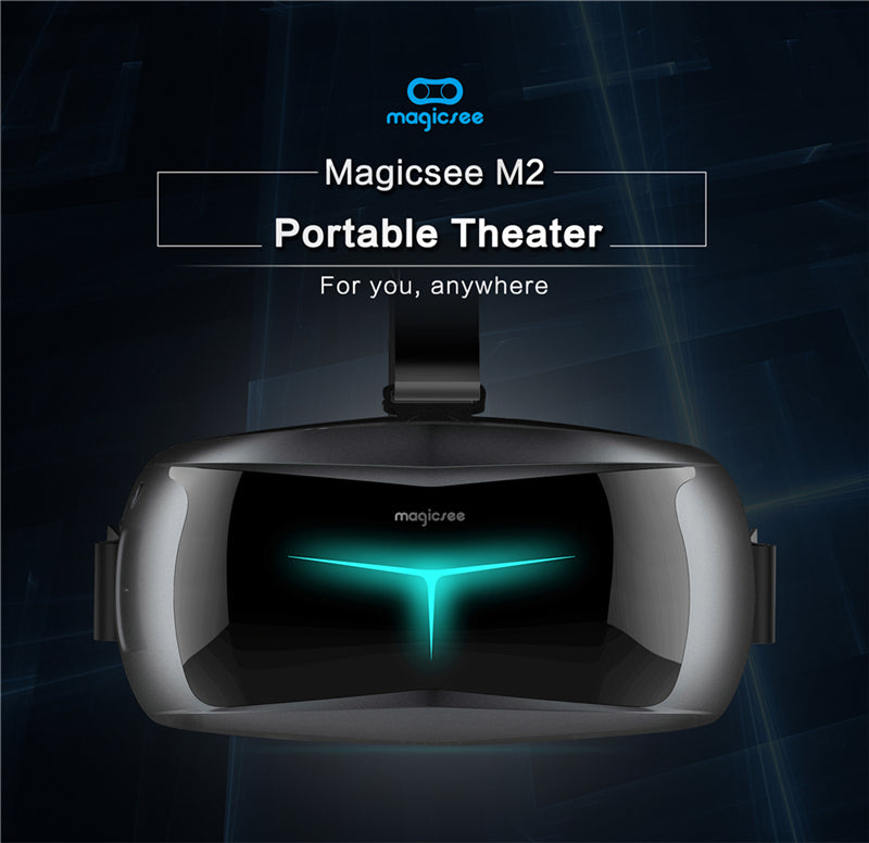 Magicsee M2 3D Glasses All in one VR Glasses FOV90 Android 5.1 Virtual Reality Quad-core 5.5inch VR for 3D Game Movie can adjust - Spinner-Gadget