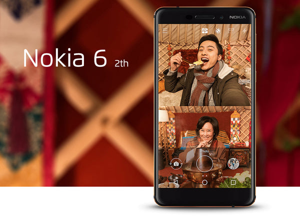 Nokia 6 Second generation 2th TA-1054 4G 32G 64G Android 7 Snapdragon 630 Octa core 5.5'' FHD 16.0MP 3000mAh mobile phone - Spinner-Gadget