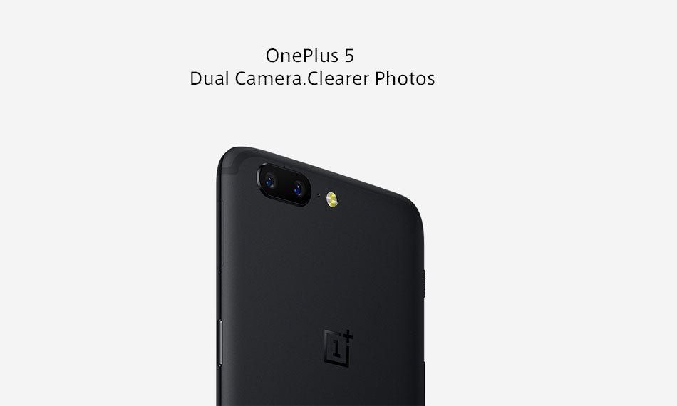 "UK Version Oneplus 5 8GB 128GB Smartphone Snapdragon 835 Octa Core LTE 4G Dual SIM 5.5"" 20.0MP 16.0MP Fingerprint - Spinner-Gadget"
