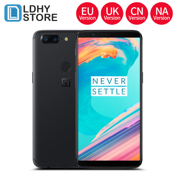OnePlus 5T 6GB 64GB Snapdragon 835 Octa Core Fingerprint ID 6.01 inch 1080x2160P 20.0MP 2 back Camera 16.0MP NA UK CN EU Version - Spinner-Gadget
