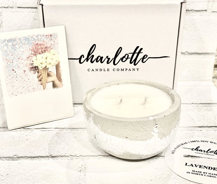 THE MONTHLY CONCRETE CANDLE SUBSCRIPTION BOX