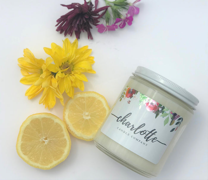 GREEN TEA + LEMONGRASS - Charlotte Candle Company