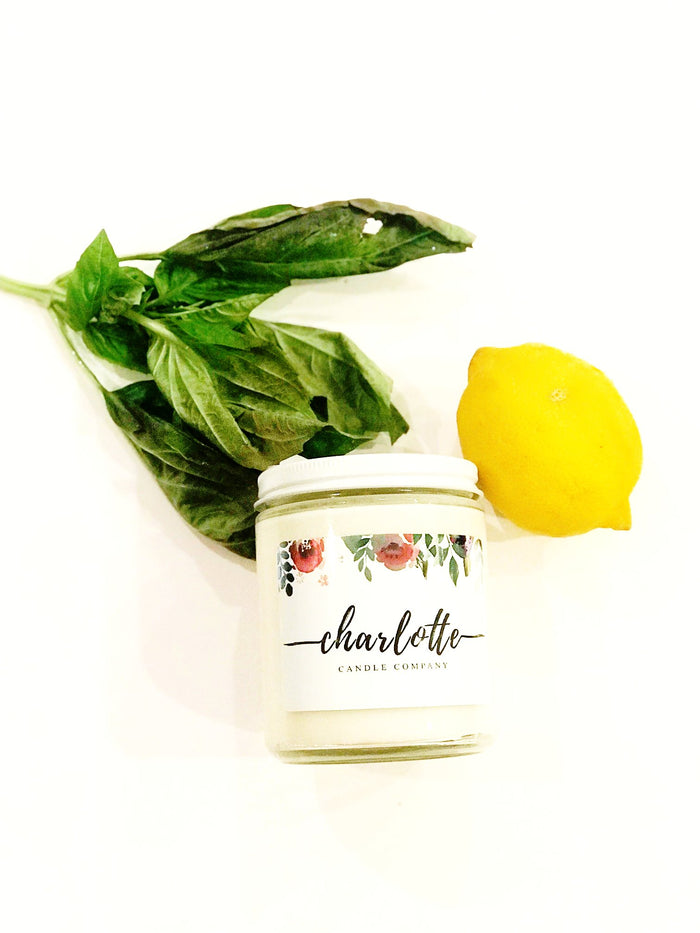 COOL CITRUS BASIL - Charlotte Candle Company