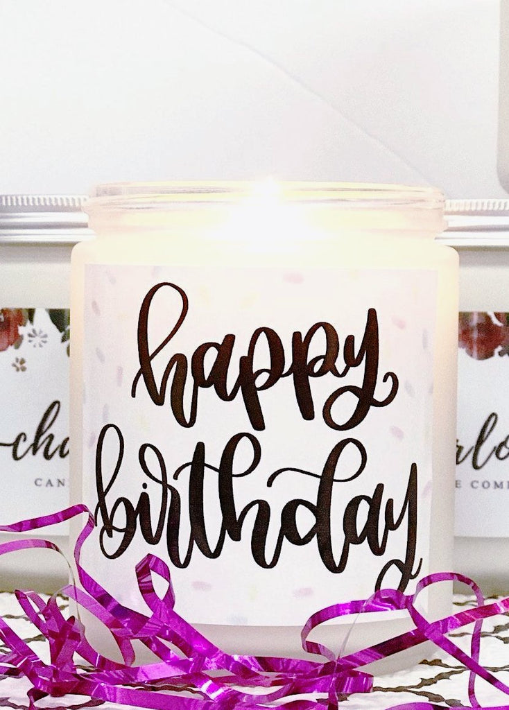 BIRTHDAY CAKE - Charlotte Candle Company