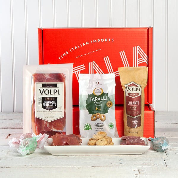 Volpi Salume & Tarallini Antipasti Gift Box | Set of 3