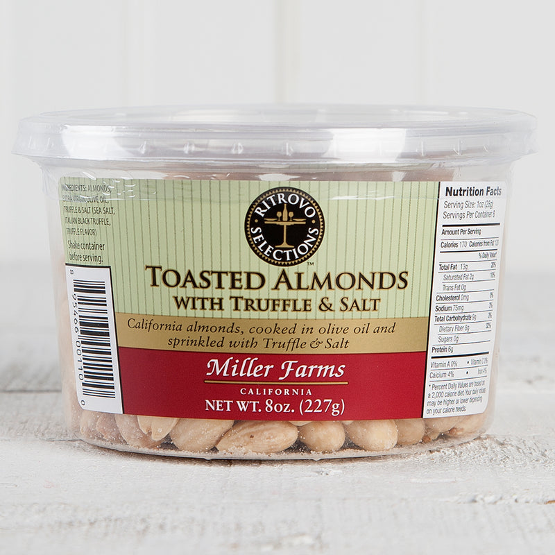 Toasted Almonds w/ Truffle and Salt - 8oz