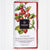70% Dark Chocolate with Cherries, Strawberries and Raspberries Bar - 50gr