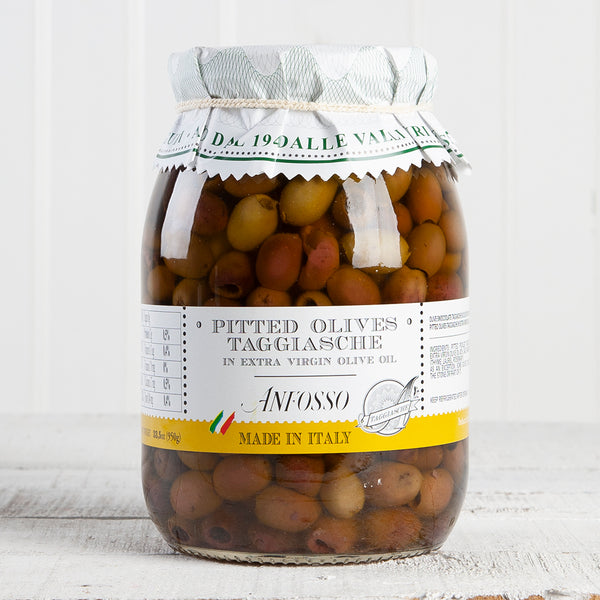 Pitted Taggiasca Olives - 33.5 oz