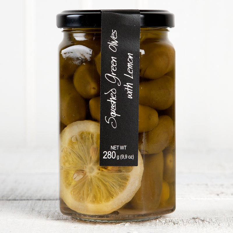 Green Olives w/ Lemon and Olive Oil - 9 oz