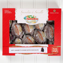 Soft Chocolate Amaretti Cookies - 6 oz