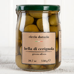 Bella Di Cerignola Green Olives - 19.4 oz