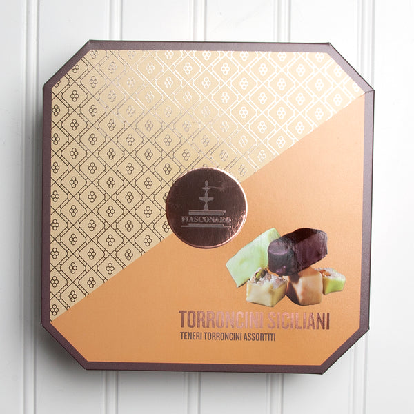 Sicilian Bite Size Torrone Assortment - 8.8 oz. Gift Box
