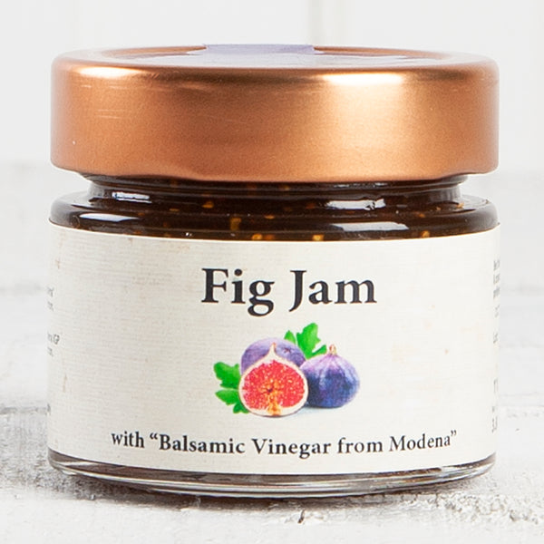 Balsamic Fig and Strawberry Jam Compote