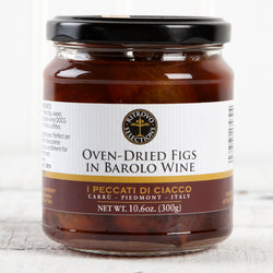 Oven-Dried Figs with Barolo Wine - 10.58oz