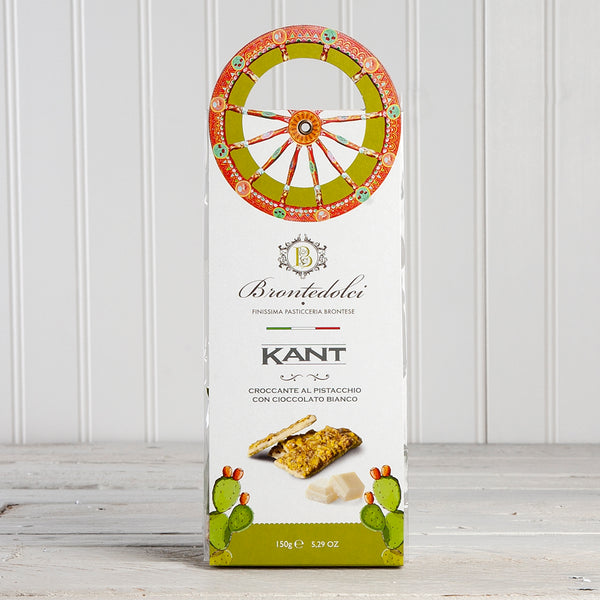 Sicilian Pistachio Brittle with White Chocolate - 5.29 oz