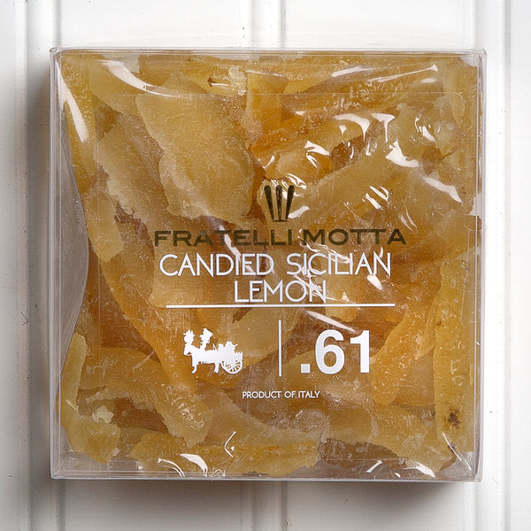 Candied Sicilian Lemon Peels - 5.8 oz