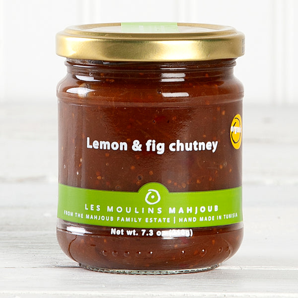 Organic Lemon and Fig Chutney - 7.3 oz