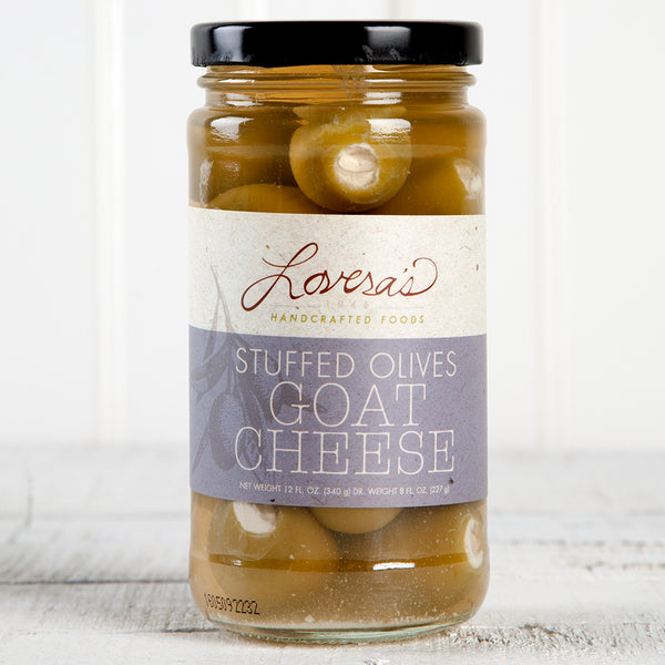 Goat Cheese Stuffed Olives - 12oz