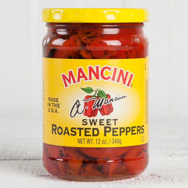 Sweet Roasted Red Peppers - 12oz