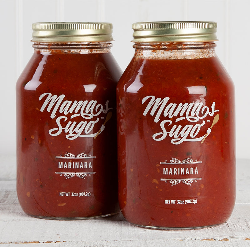 Marinara Sauce - 32oz Mason Jars | Set of 2