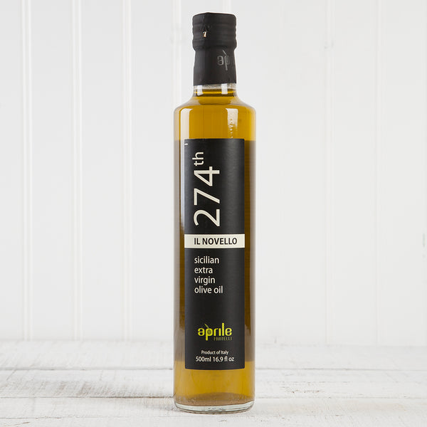 274th Novello Extra Virgin Olive Oil (Sicily) - 17 oz