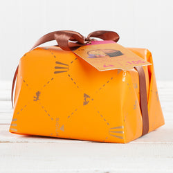 Panettone with Sicilian Candied Peach with Saffron - 1.1 lb