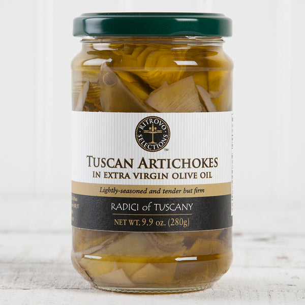 Tuscan Artichokes in Extra Virgin Olive Oil - 10oz