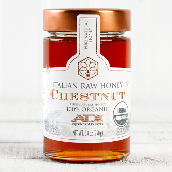 Raw Organic Chestnut Honey - 8.8 oz
