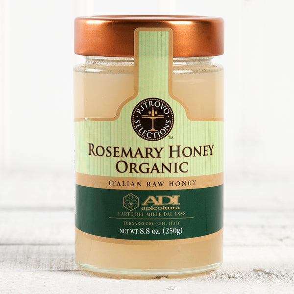 Raw Organic Rosemary Honey - 8.8 oz