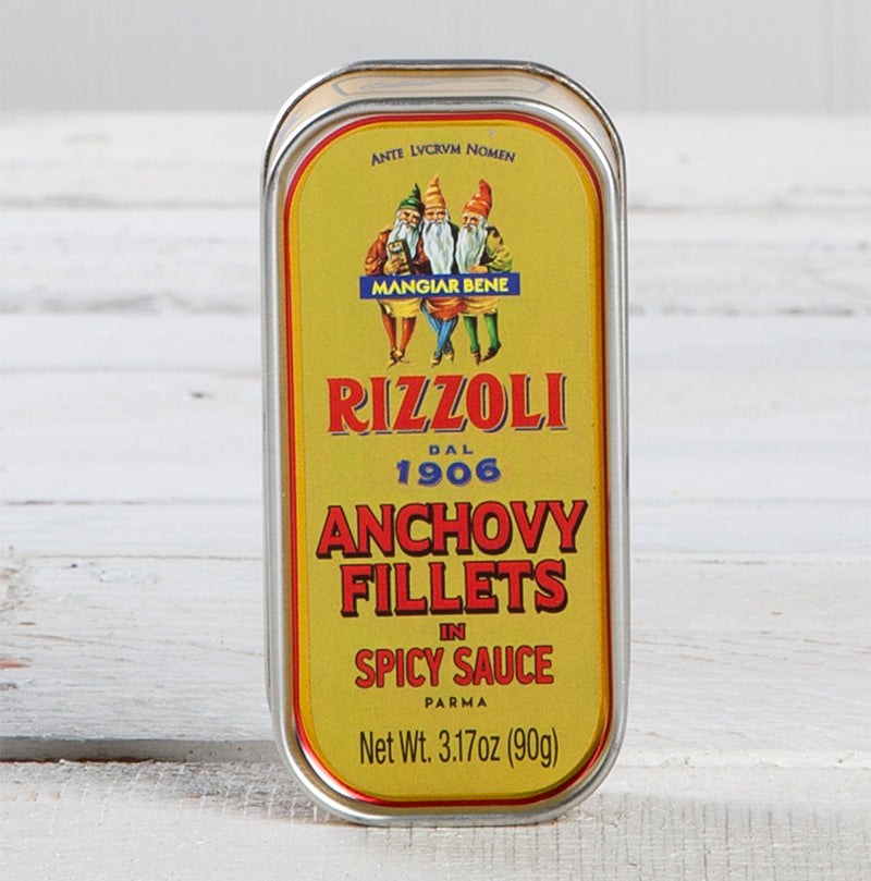 Anchovy Fillets in Spicy Sauce