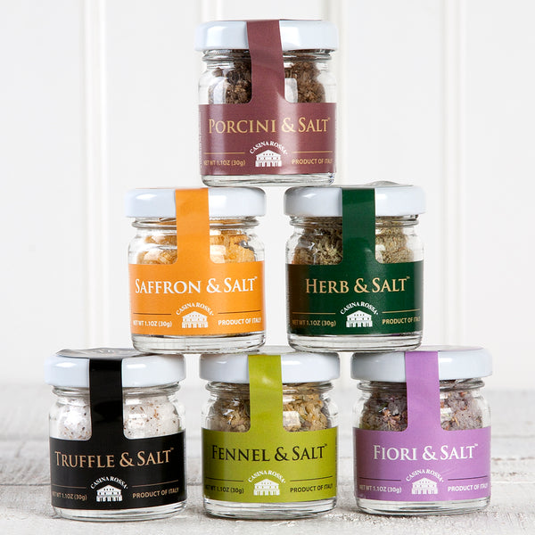 Sea Salt Gift Pack - 1.1 oz. Jars | Set of 6