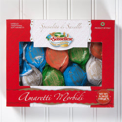 Soft Amaretti Cookies Window Box - 6 oz