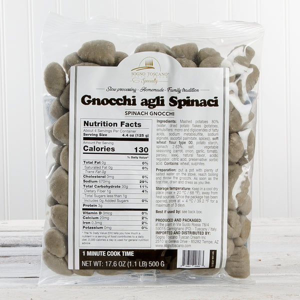 Spinach Potato Gnocchi - 17oz