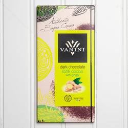 62% Dark Chocolate with Ginger - 3.5 oz