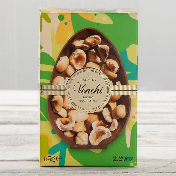 Milk Chocolate with Roasted Hazelnuts Miniature Easter Egg - 2.29 oz