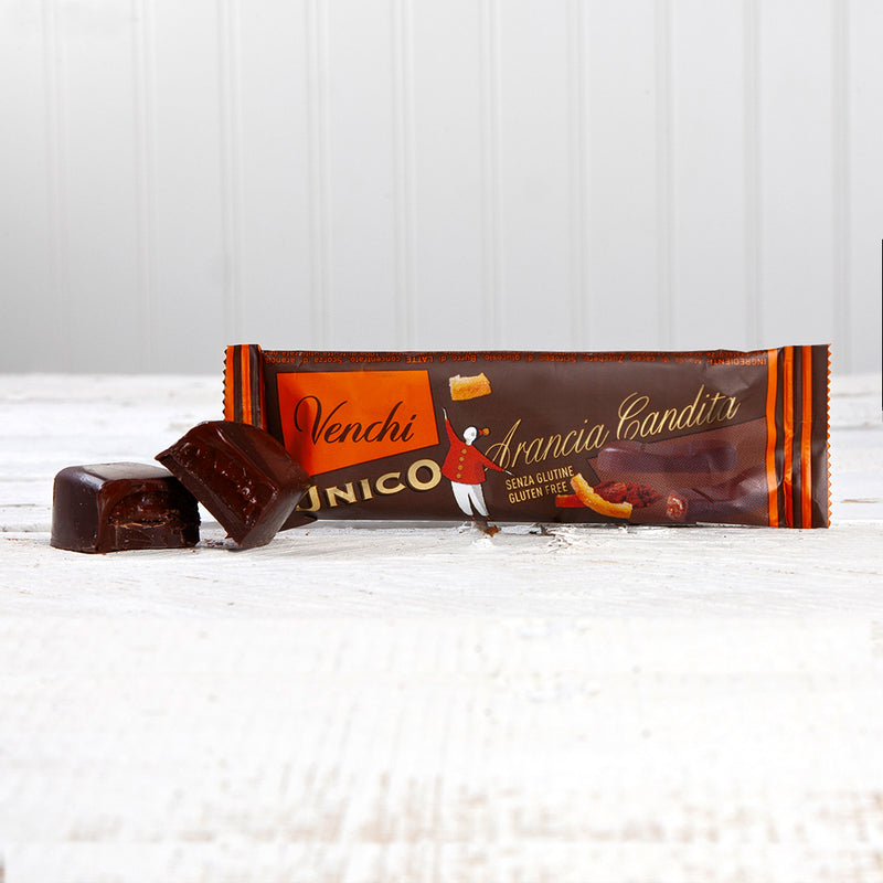 Unico Dark Chocolate and Candied Orange - 0.88 oz