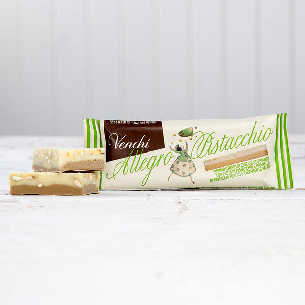 White Chocolate And Pistachio Allegro Bar - 0.88 oz