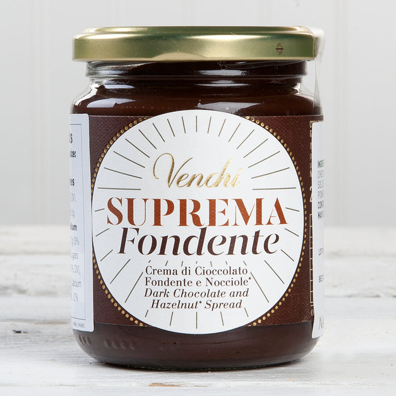 Suprema Dark Chocolate Hazelnut and Olive Oil Spread - 8.8 oz