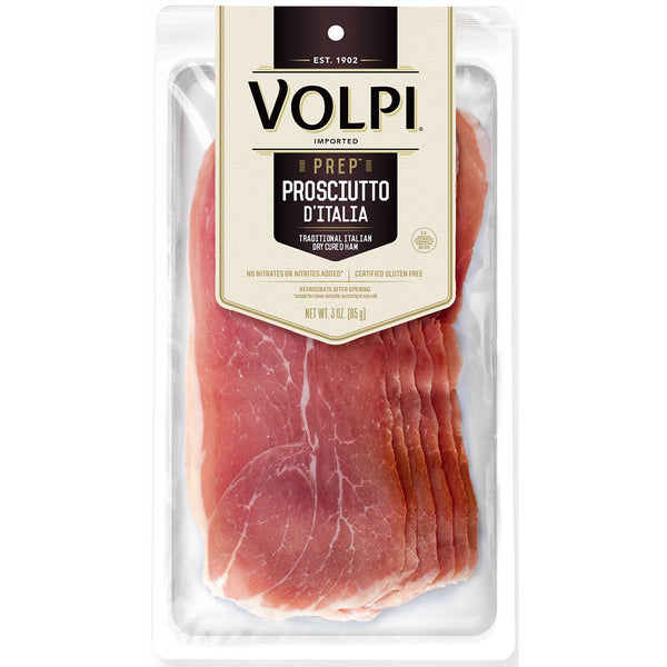Sliced Imported Prosciutto D'Italia - 3 oz