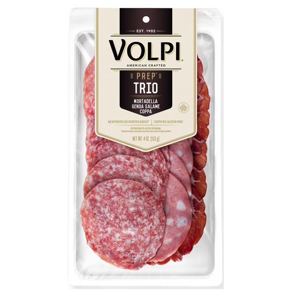Sliced Trio Set (Genoa, Mortadella & Coppa) - 4 oz