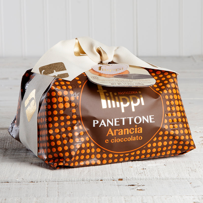 Panettone with Chocolate Drops and Candied Orange Peel - 17.6 oz
