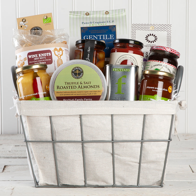 Vegan Italian-Inspired Gift Basket | Set of 11