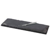 "Cheese Board and Knife Serving Set, Stainless Steel and Slate, 13"" x 4.5"""