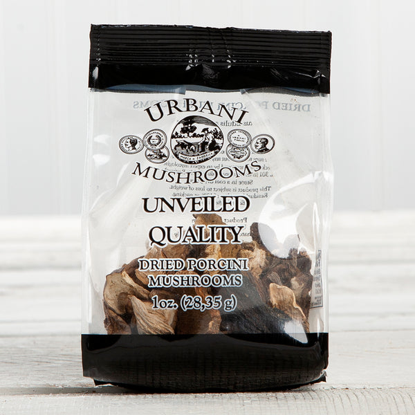 Dried Porcini Mushrooms - 1 oz