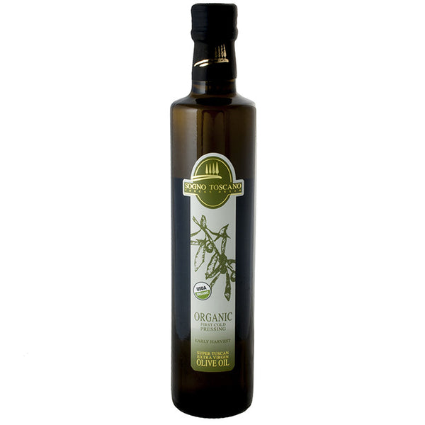 Tuscan Organic Extra Virgin Olive Oil (2015 Harvest) - 17 oz