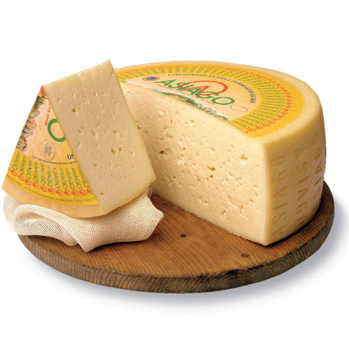 Asiago Fresco D.O.P. - 8 oz. wedge