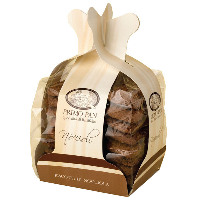 "Noccioli ""Hazelnut Cookies with Chocolate"" - 12oz"